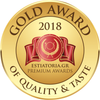 GOLD AWARD 2018 ESTIATORIA PREMIUM AWARDS (tiny)